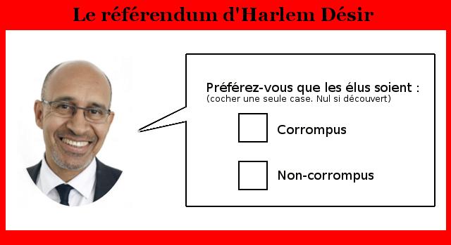 Le référendum sur la moralisation de la vie