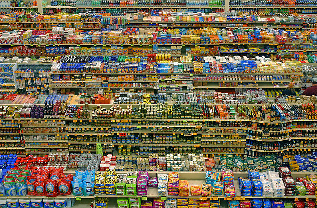 Vertigineuse photo d'Andreas Gursky...