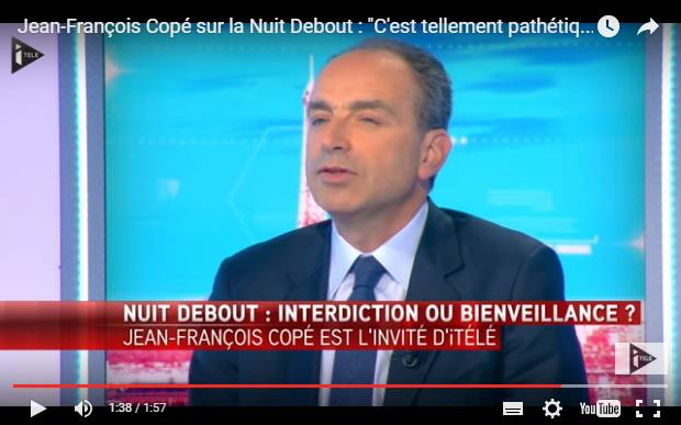 « la démocratie, c'est le vote », disait Jean-François Copé récemment, qui opposait le vote, fondamentalement démocratique, à l'expression de son opinion sur la place publique, « pathétique » et « choquante » pour les français, notamment «à Meaux » et « en régions »