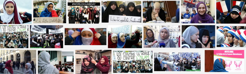 Le Hijab en France (résultat d'une recherche d'images avec Google)