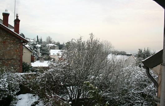 Neige tardive, le lendemain matin