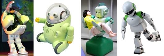 robots japonais i-fbot, i-foot, etc.