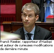 Franck Riester LCP