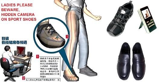 chaussure_camera