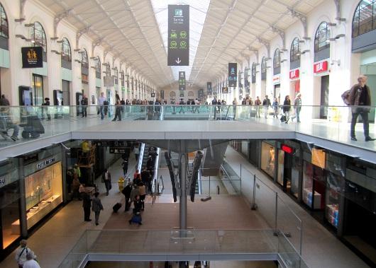 La nouvelle Gare Saint-Lazare