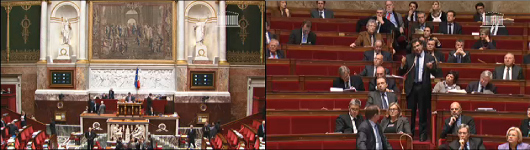 L'Assemblée nationale et la science-fiction