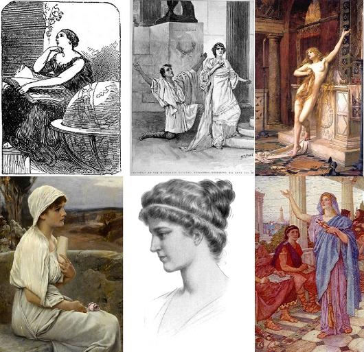 Quelques représentations d'Hypatie d'Alexandrie (XIXe siècle)