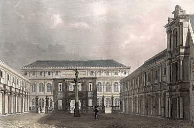 Le Palais des études des Beaux-Arts de Paris.
