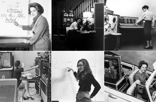 Edie Windsor, IBM, 1965 Mary Allen Wilkes ; Jane Wehe Bonnette ;  ; Diane C. Pirog Smith (b. 1944)