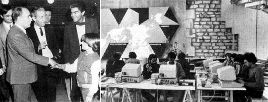 Le Centre Mondial Informatique et Ressource Humaine a été fondé par Jean-Jacques Servan-Schreiber et était dirigé par Nicholas Negroponte. Il était situé au 22 de l'avenue Matignon, à Paris dans le 8e arrondissement. Ses activités ont duré de 1981 à 1986. Nicholas Negroponte en a été le premier directeur, pendant un an. Ce centre de recherches très pointu voulu par François Mitterrand et Gaston Defferre avait une vitrine grand public: dans le hall d'entrée, les enfants étaient invités à venir apprendre la programmation en langage Logo.