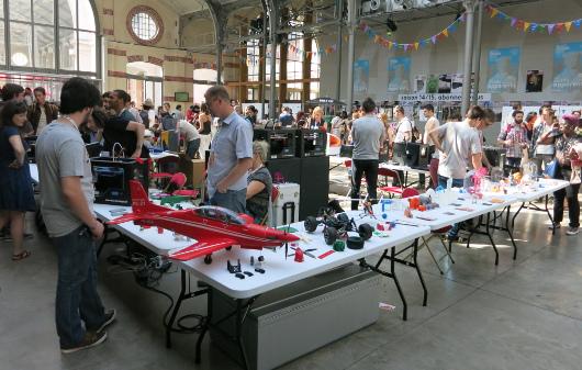 Première édition de Maker Faire Paris