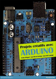 Parution de Projets créatifs avec Arduino