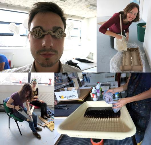 Workshop « la mort » à l'école d'art du Havre