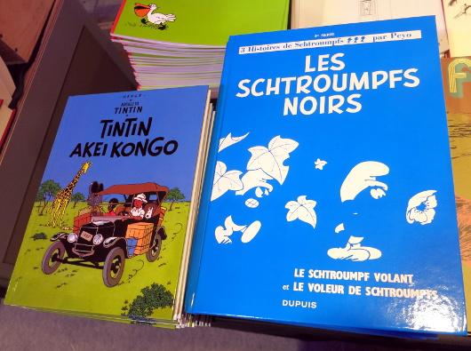 tintin_akei_kongo_schtroumpfs_noirs