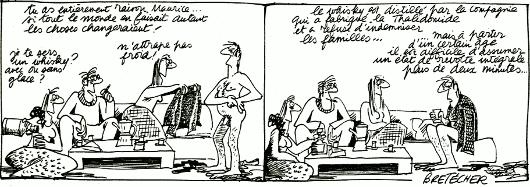 Les Frustrés, par Claire Bretécher.