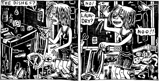 Dirty Plotte, par Julie Doucet