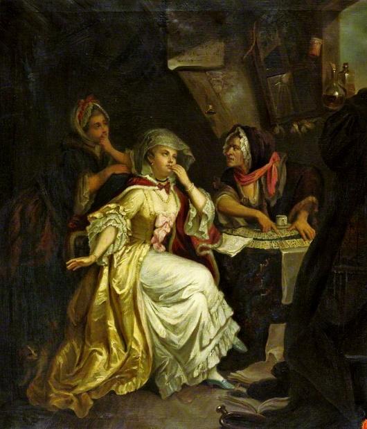 Johann Eleazar Schenau, La Credulite Sans Reflexion (XVIIIe siècle)