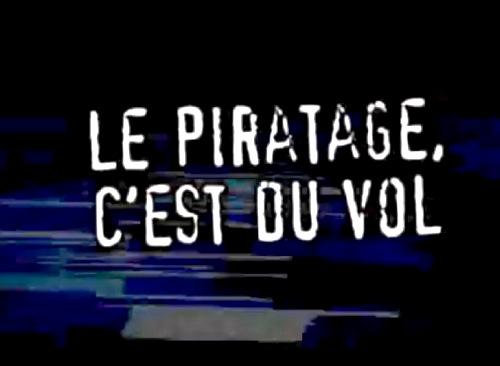 """""""Le piratage, c'est du vol"""","""