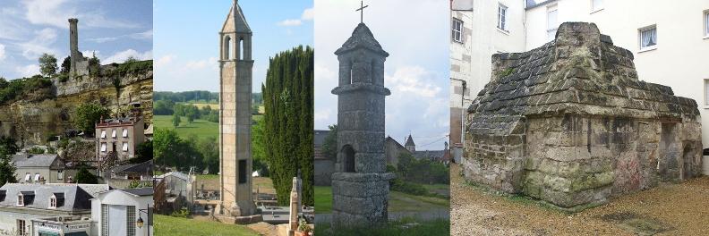 Rochecorbon, Saint-Agnant-de-Versillat, Goussaud et Saumur